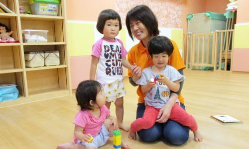 高槻園 長井園長「愛情たっぷり、みんなが温かく優しい気持ちになれる保育園です」